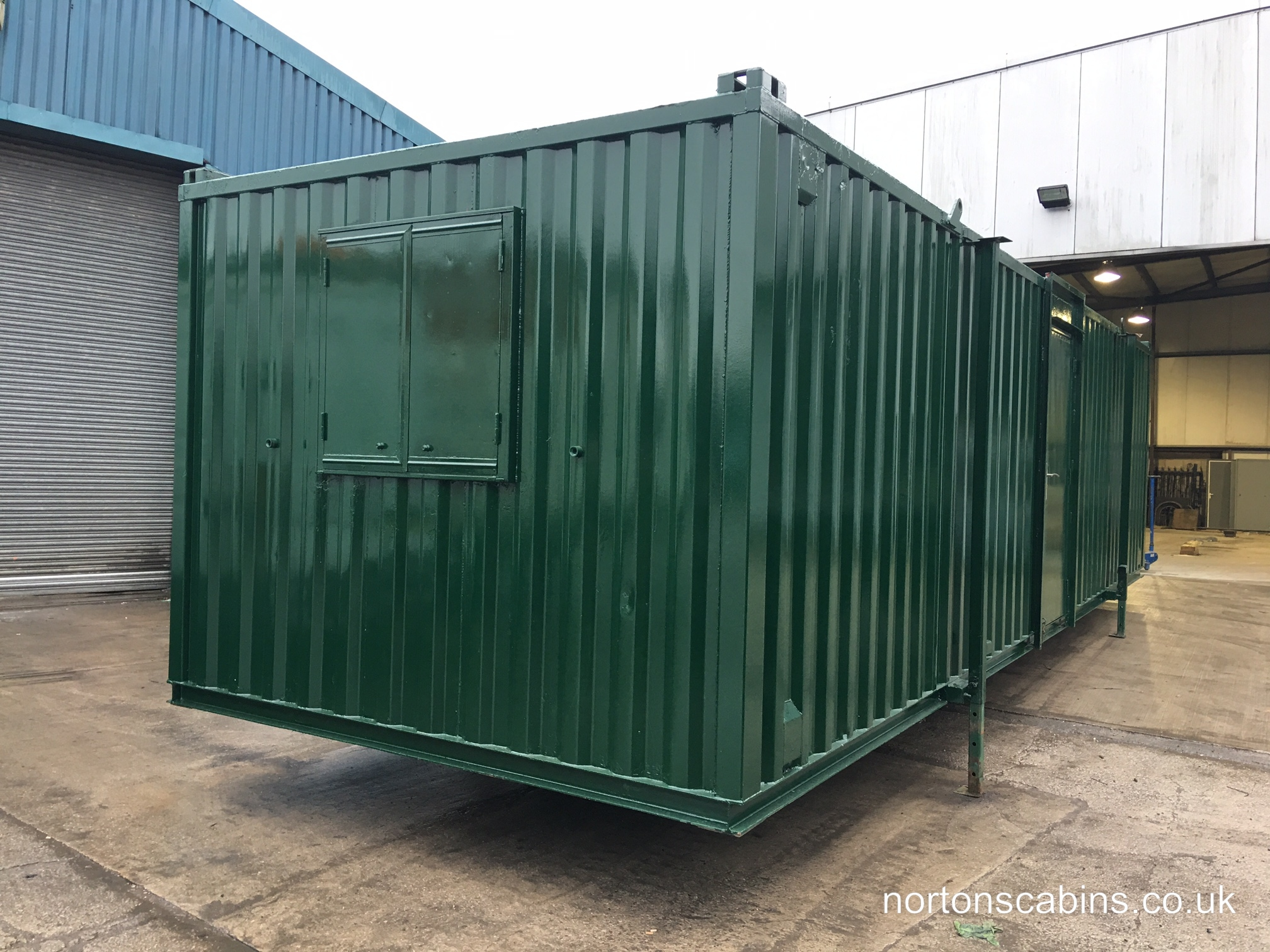 Refurbished Cabins £5,200 +VAT