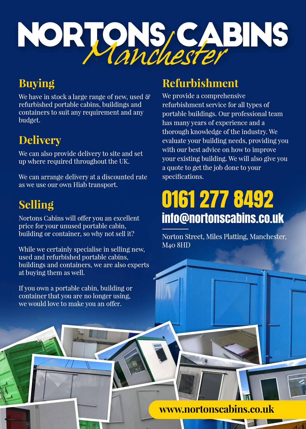 Shipping Containers Refurbished