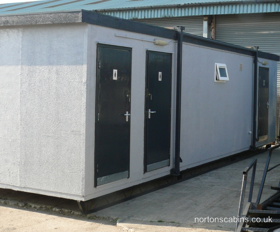 32x10ft 6 + 2 toilet block Ref: NOR222 Toilet Blocks Refurbished £4,950 +VAT